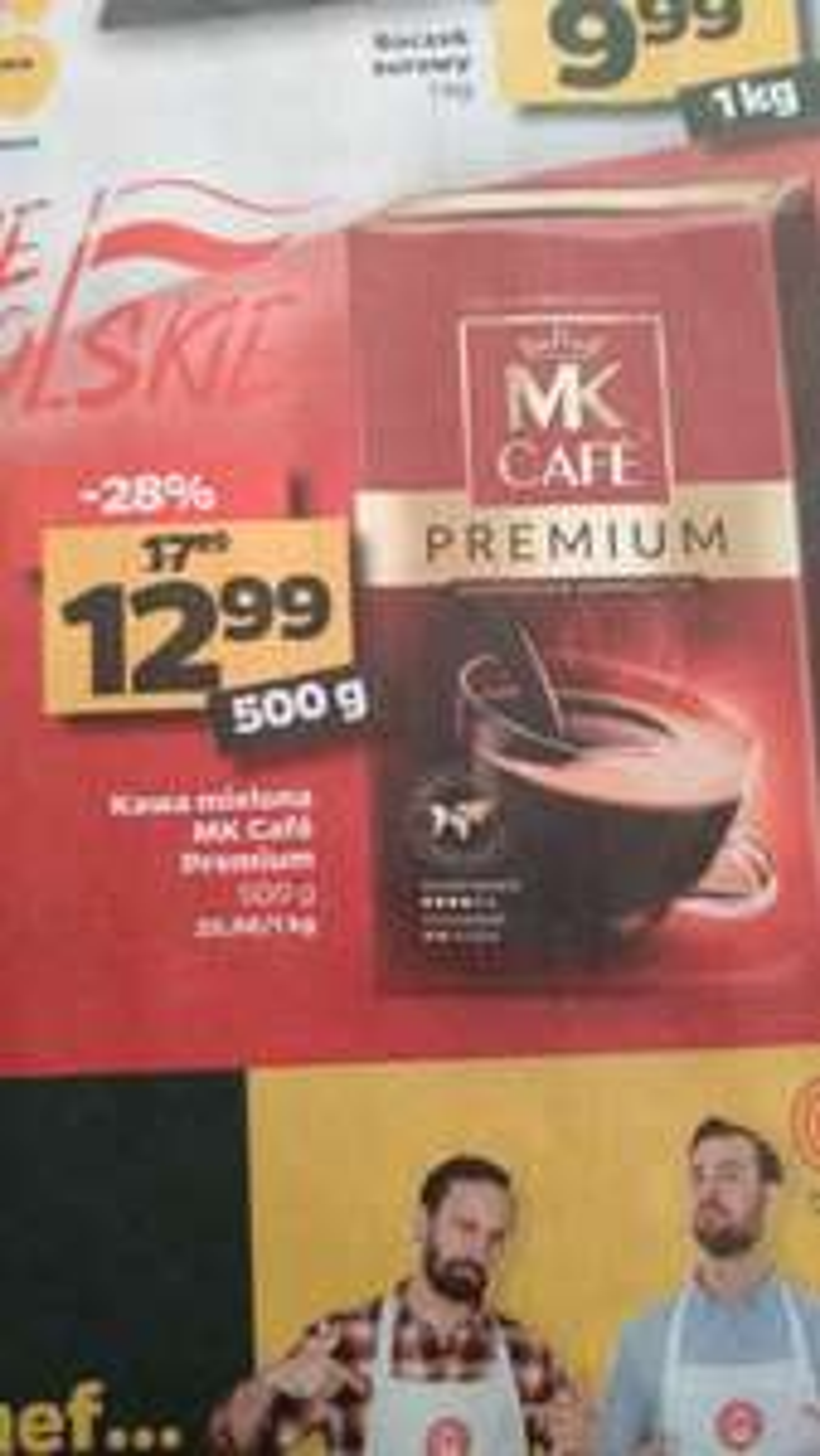 Kawa MK Cafe Premium mielona 500g w Netto