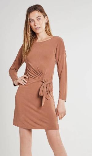 Sukienka Vila z modalu z fantazyjną kokardą XS-XL @ZalandoLounge