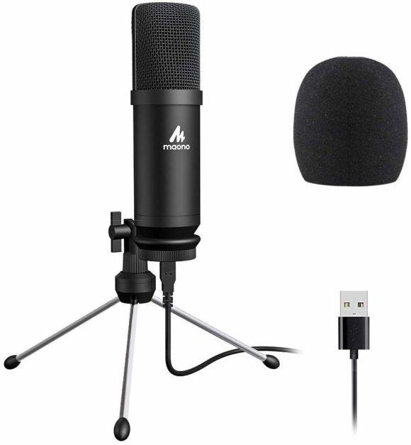 Maono au-a04tr mikrofon usb pojemnościowy