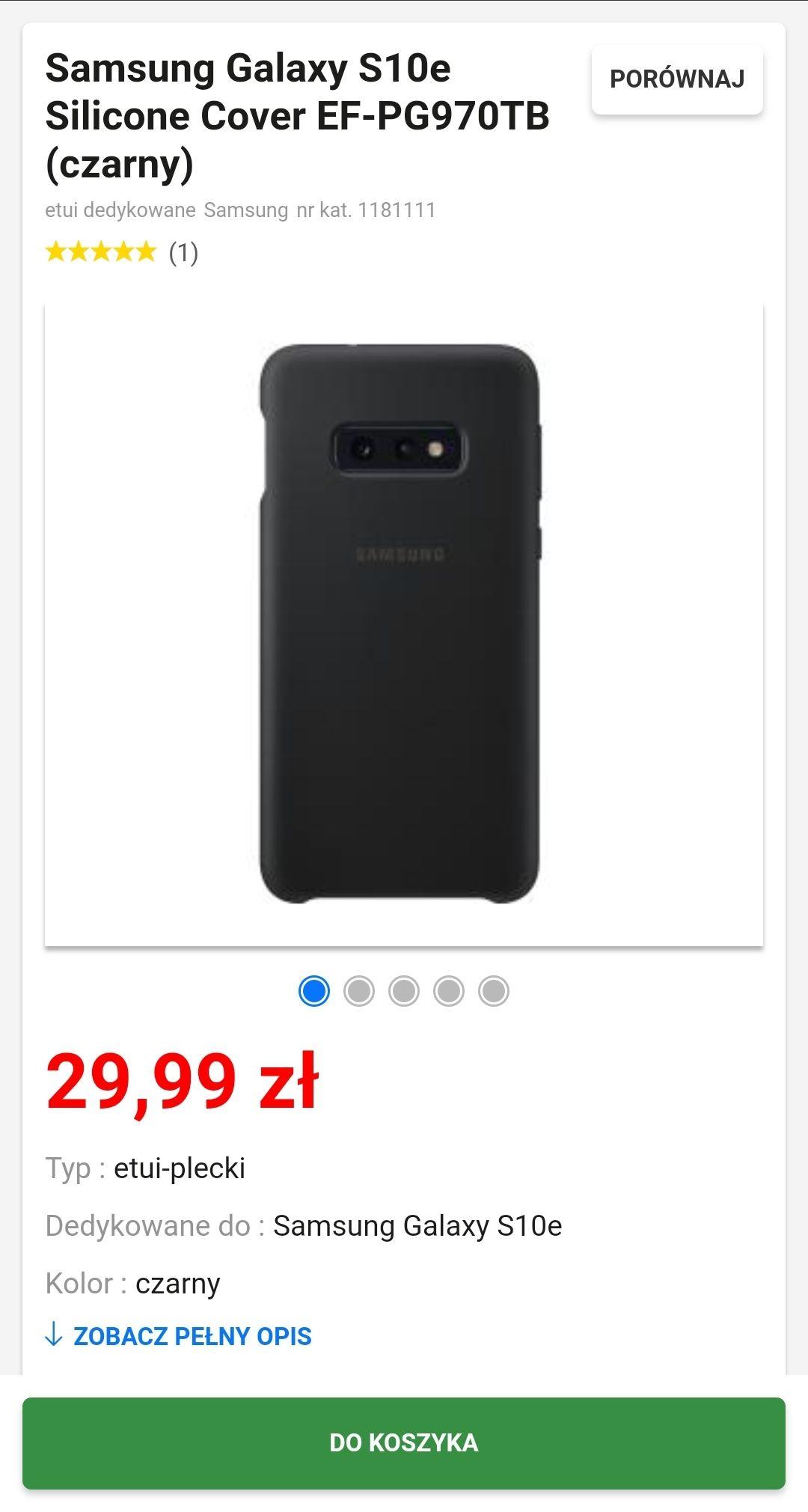 Samsung Galaxy S10e Silicone Cover