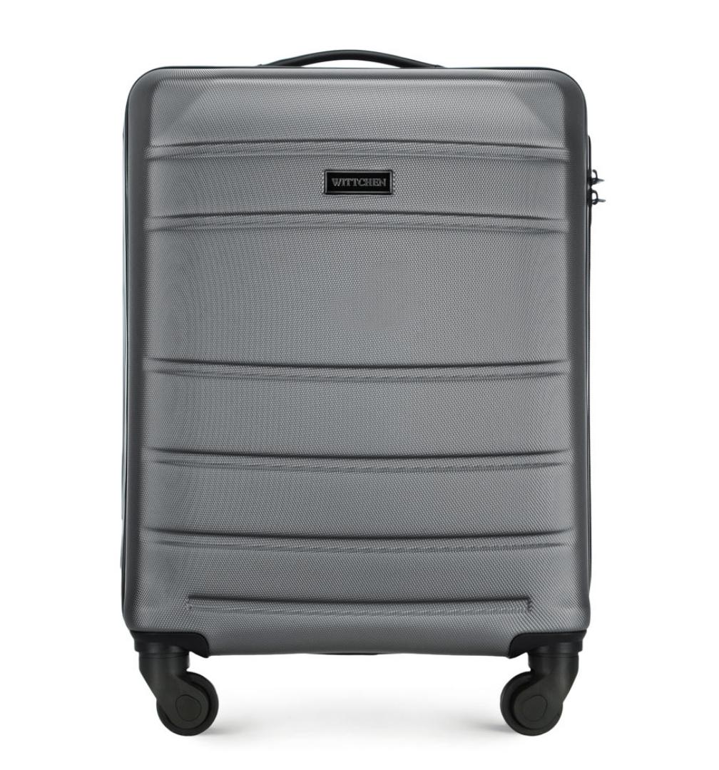 Walizka Wittchen ABS kabinówka szara/brązowa/granatowa/różowa @Allegro Smart Week