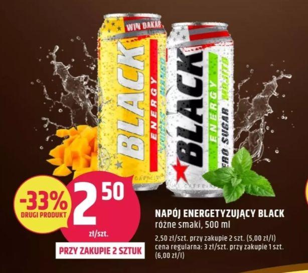 Black energy 500ml. Sklep Dealz