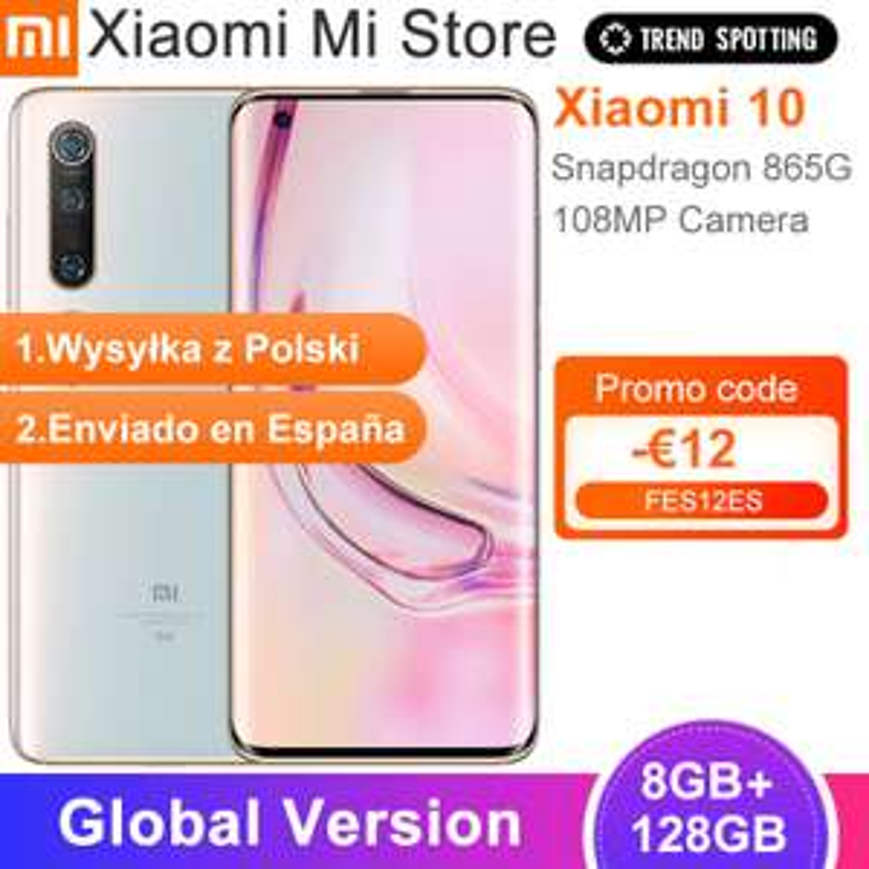 Xiaomi Mi 10 8/128 z wysyłką z PL, możliwe ponizej 2100 zł