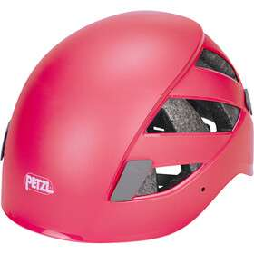 Kask wspinaczkowy PETZL BOREO, kolory raspberry red i green