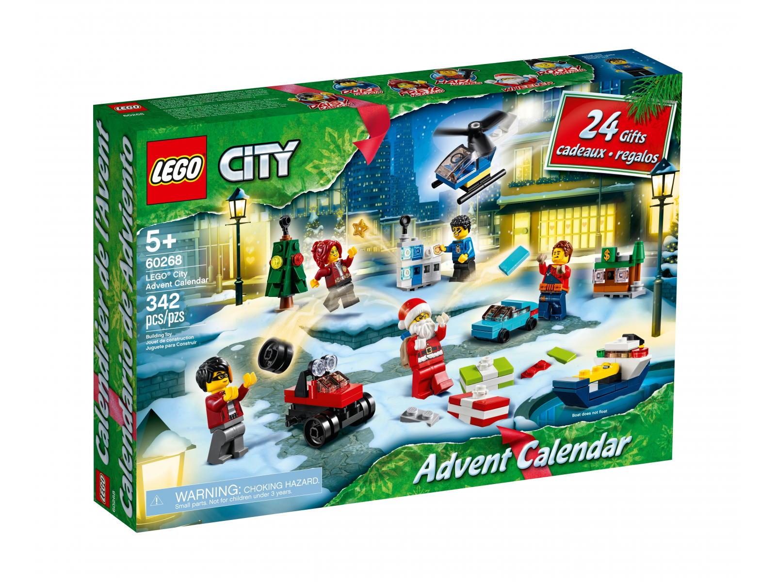 LEGO Kalendarz Adwentowy 2020 City i Friends