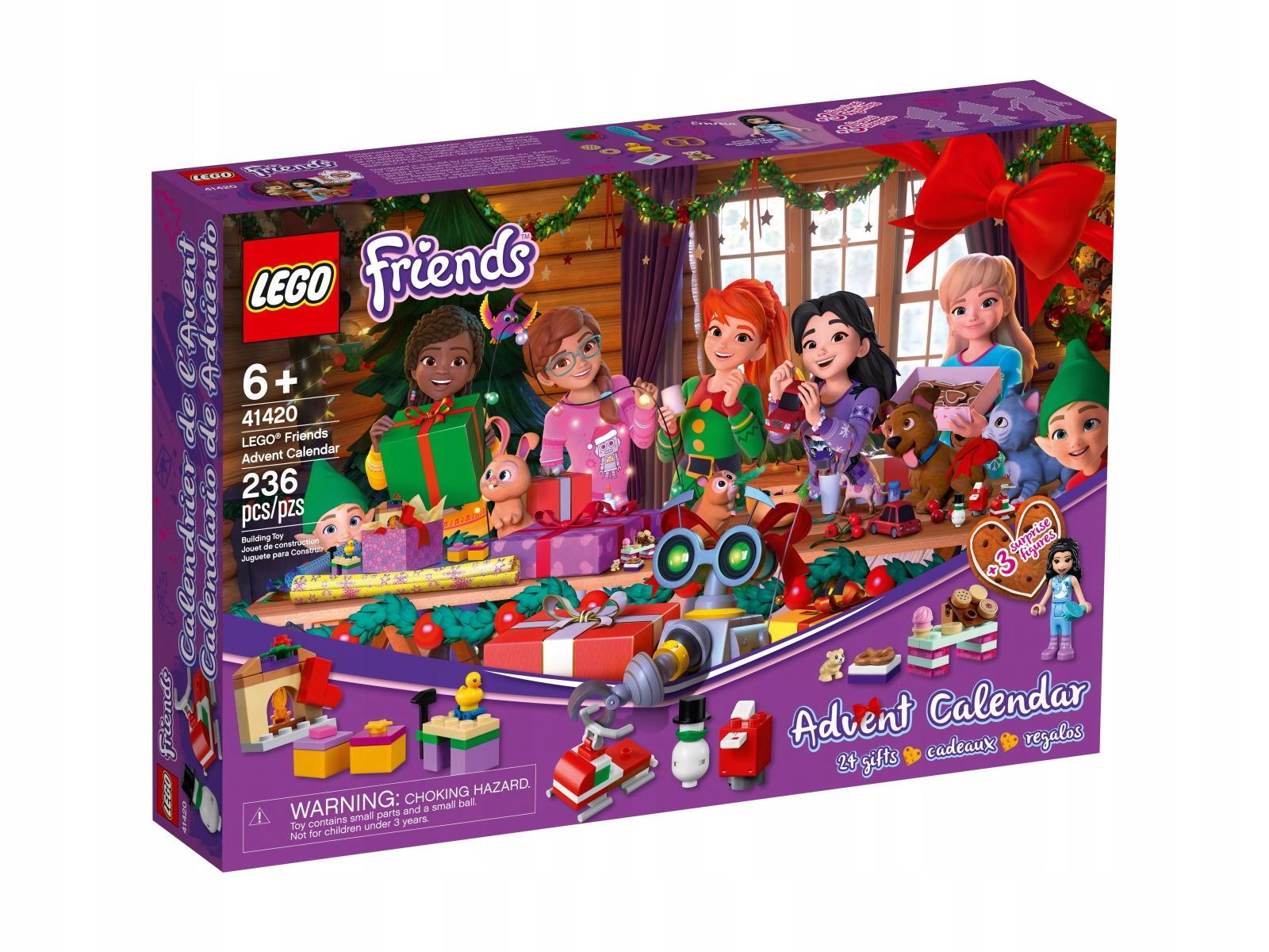 LEGO 41420 Friends - Kalendarz Adwentowy 2020