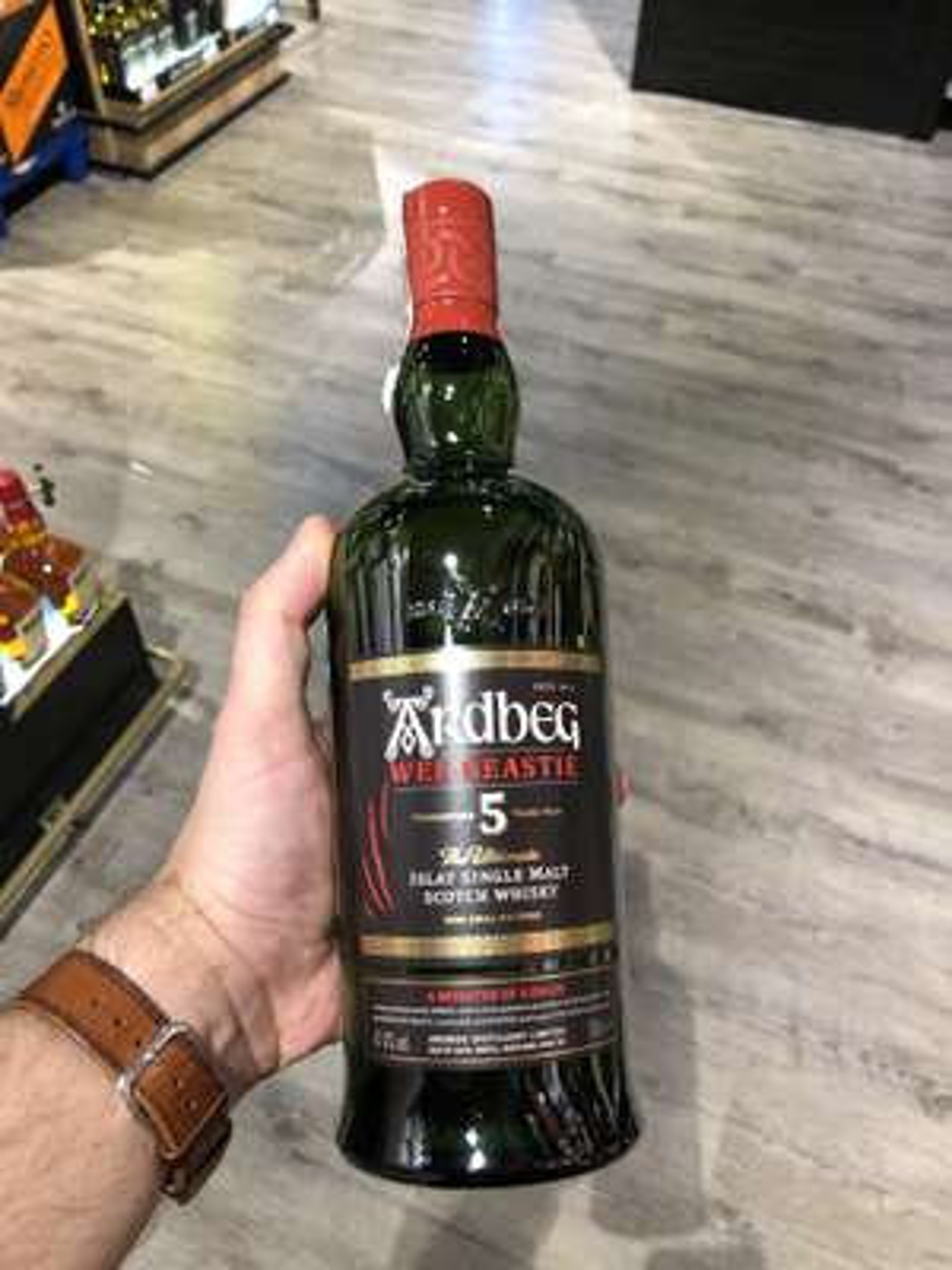 Whisky torfowa Ardbeg Wee Beastie
