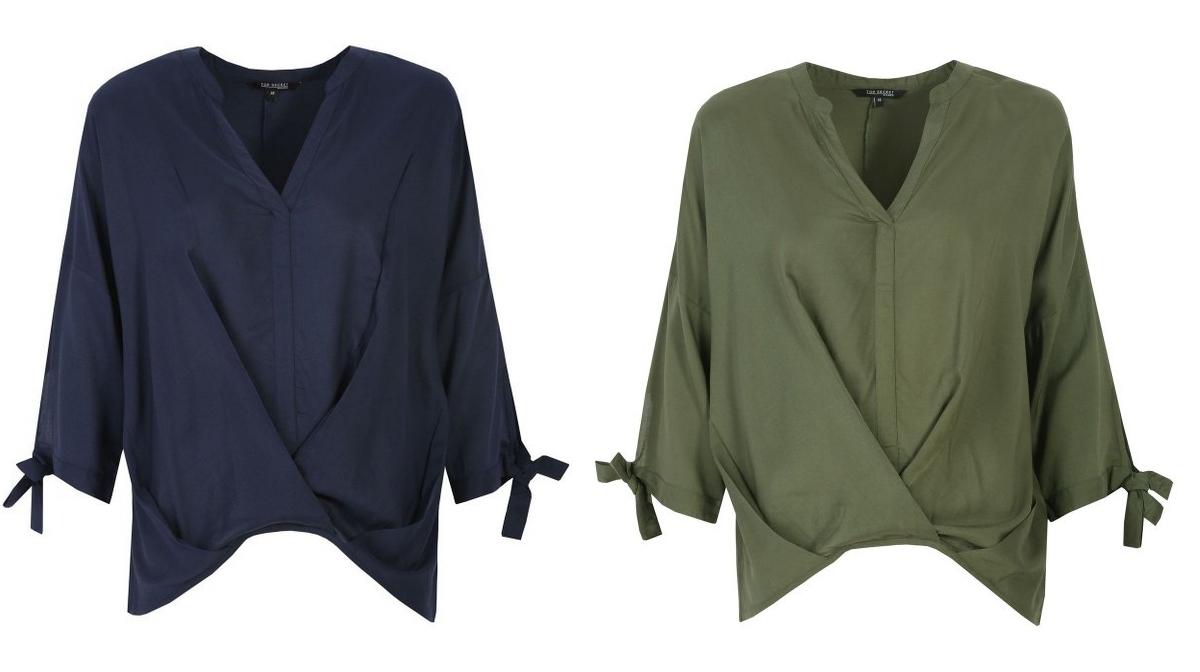 Damska bluzka o luźnym kroju z rękawem kimono @TopSecret - XS-XL