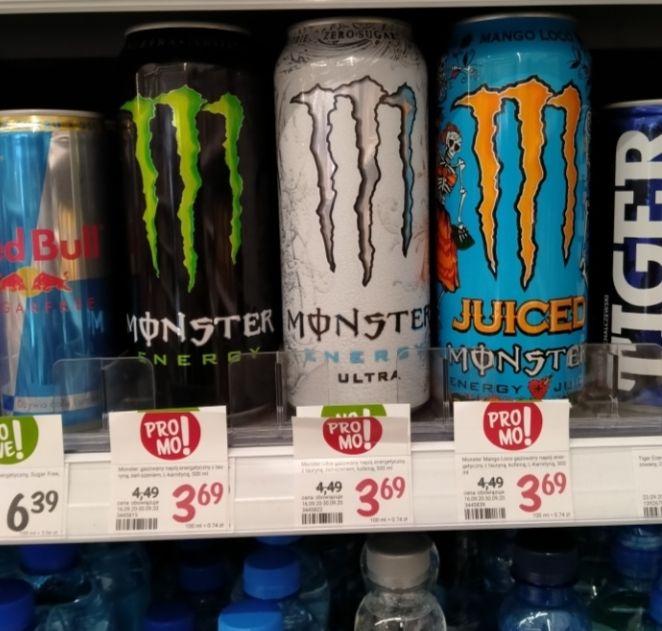 Monster energetyk 500ml. Rossmann