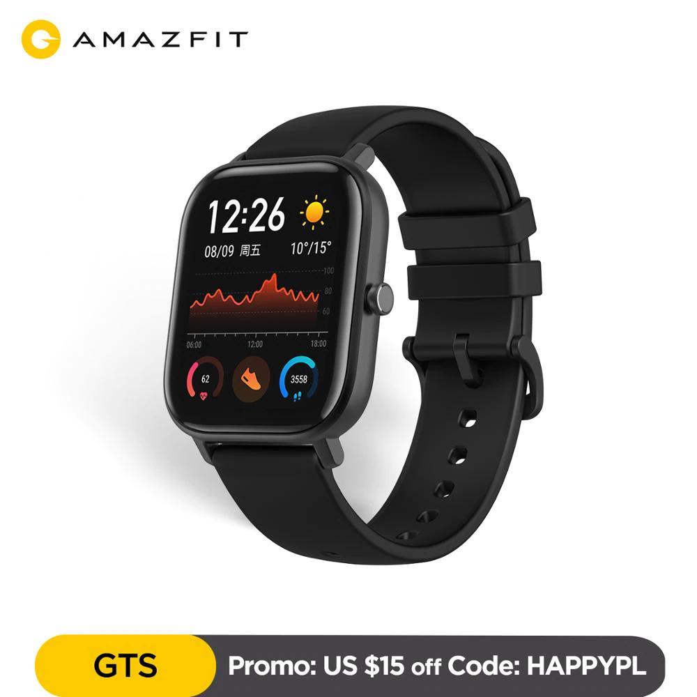 Smartwatche Amazfit GTS, Amazfit GTR, wysyłka z PL lub ES
