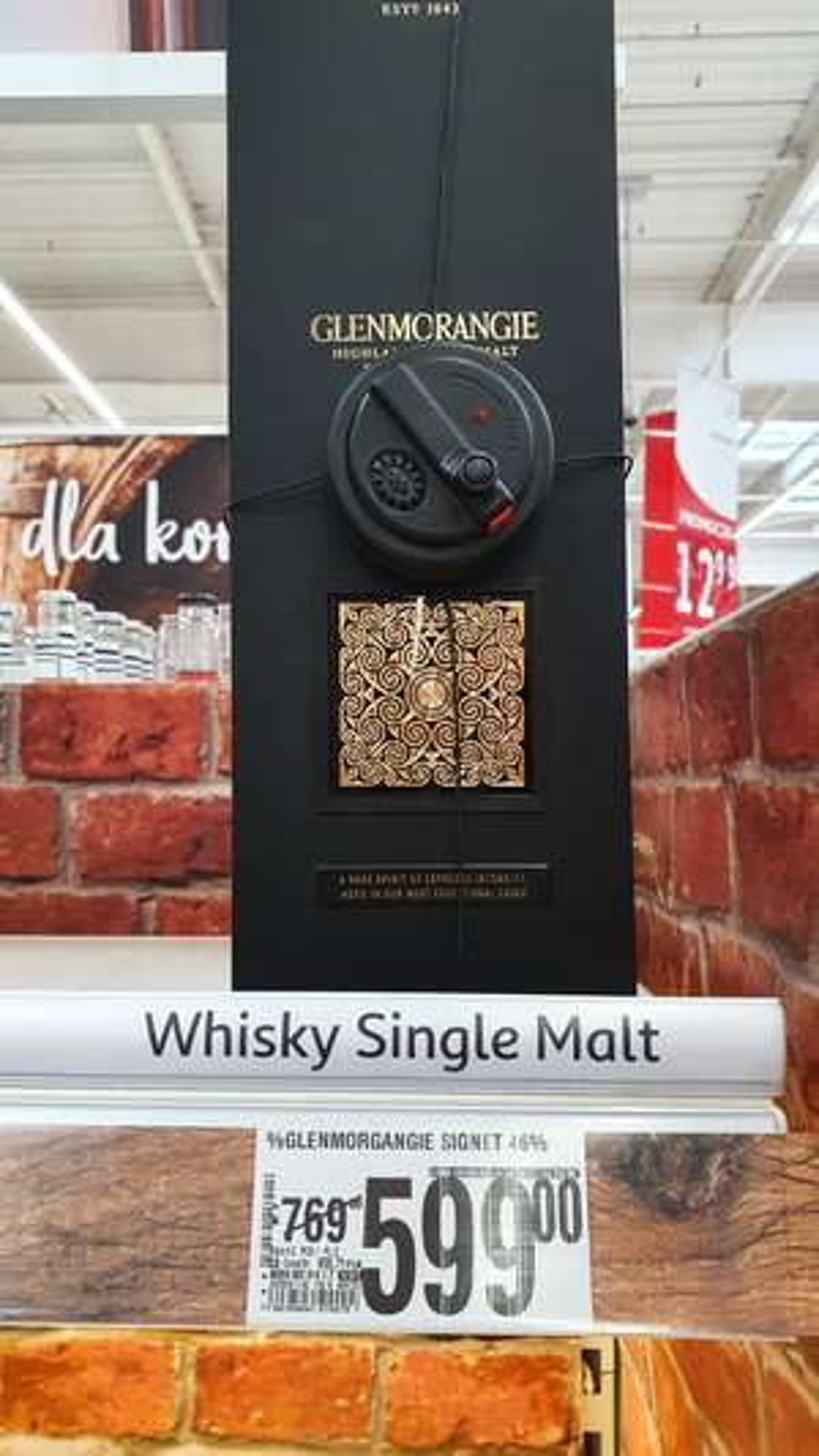 Whisky Glenmorangie Signet 0,7l 46%