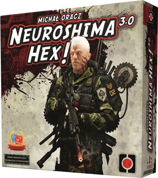 Neuroshima Hex 3.0 + dodatek Iron Gang Hexogłówki