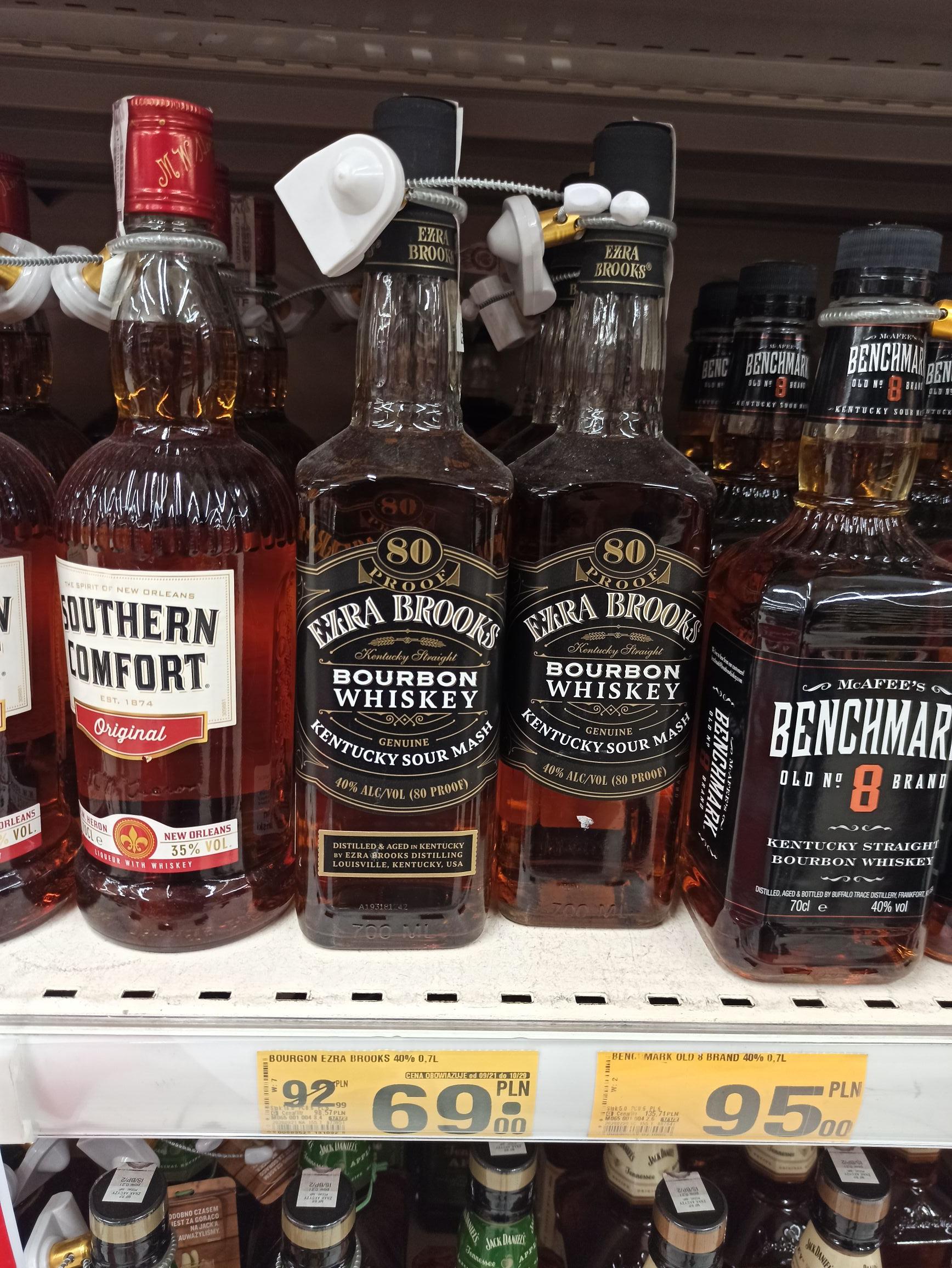 Bourbon Whisky EZRA BROOKS 0.7