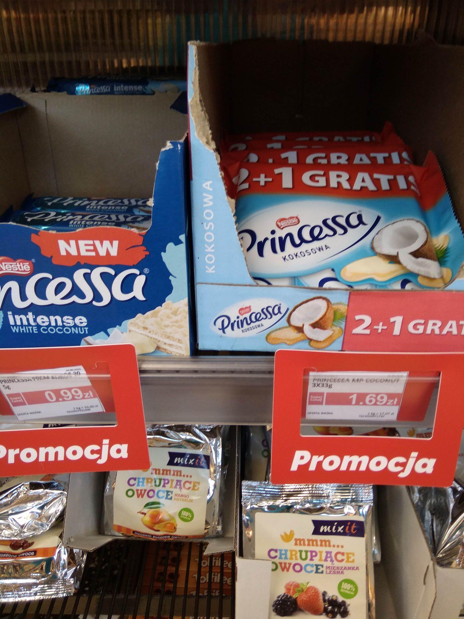 Wafelek Princessa 3x33 g Auchan Warszawa Al. Wilanowska