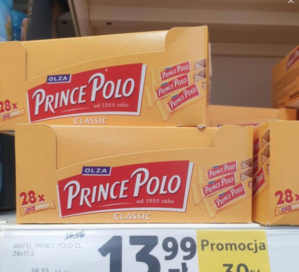 Prince Polo x 28szt - Tesco