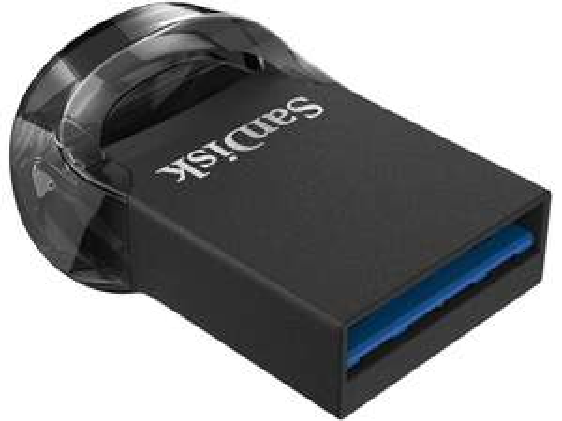 Pendrive SanDisk 256GB Ultra Fit (USB 3.1) 130MB/s. Odbiór w salonie gratis