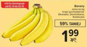Banany 1kg. Carrefour