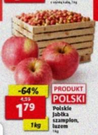 Polskie jabłka Szampion. Lidl