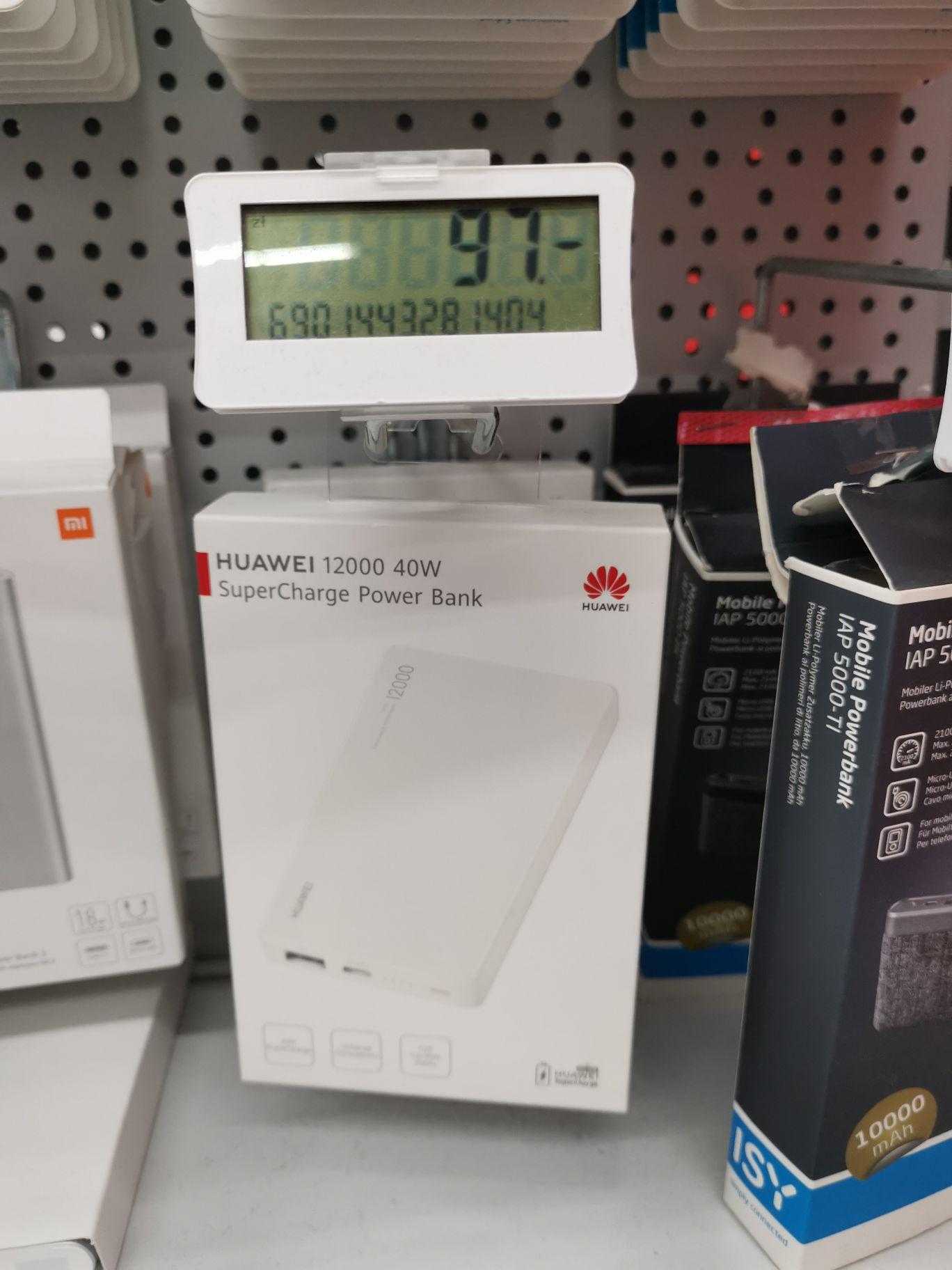 Powerbank Huawei 12000 40W cp12s w MediaMarkt M1