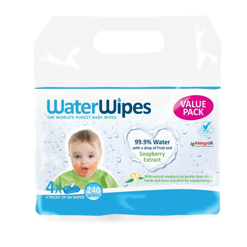 WaterWipes 4x60 Kids