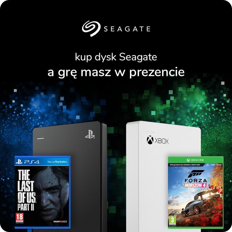 Dysk zewnętrzny HDD Seagate Game Drive 2TB dla PS4 (możliwe inne modele) + GRA w prezencie