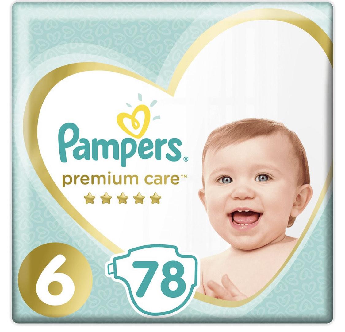 Pampers premium care 6 78 szt. Empik