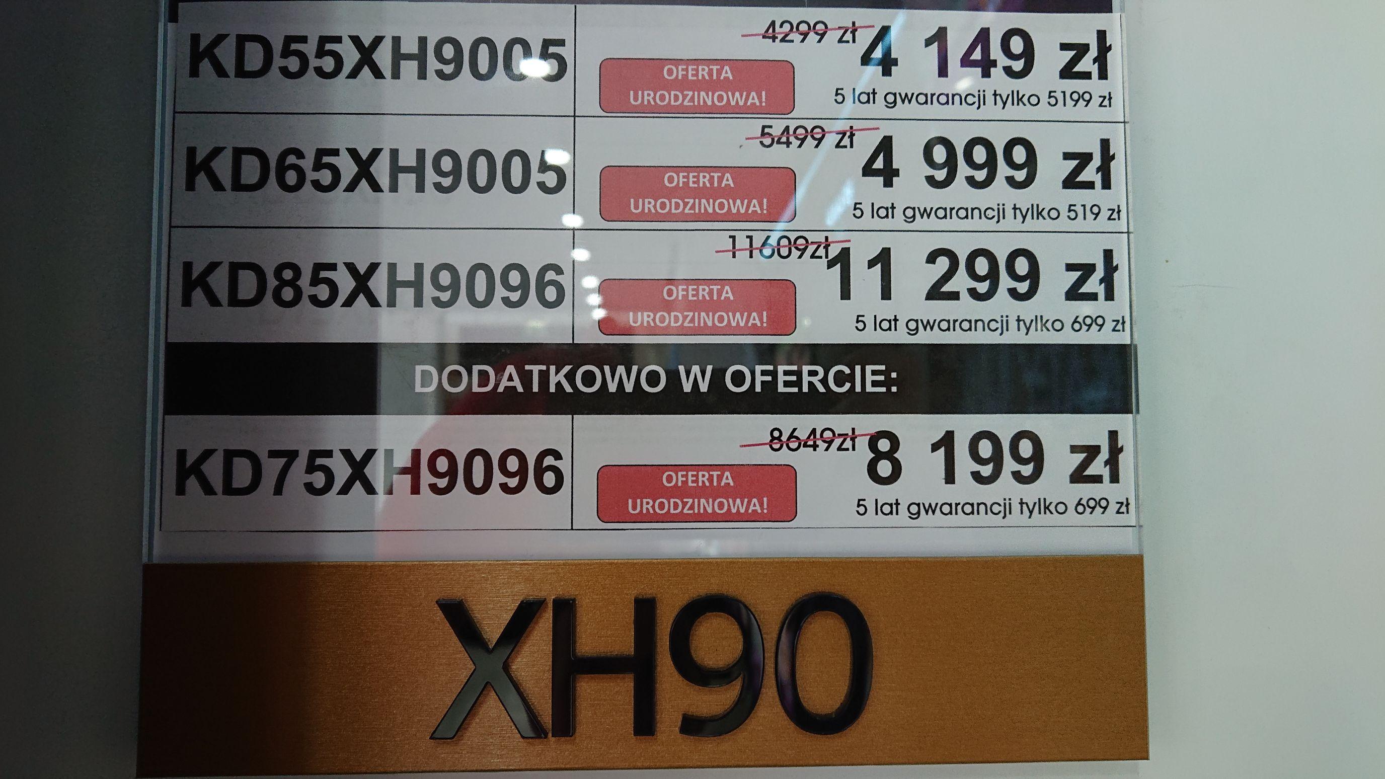 TV Sony KD-65XH9005 Sony Centre