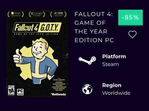 Fallout 4 Game od The Year Edition (STEAM)