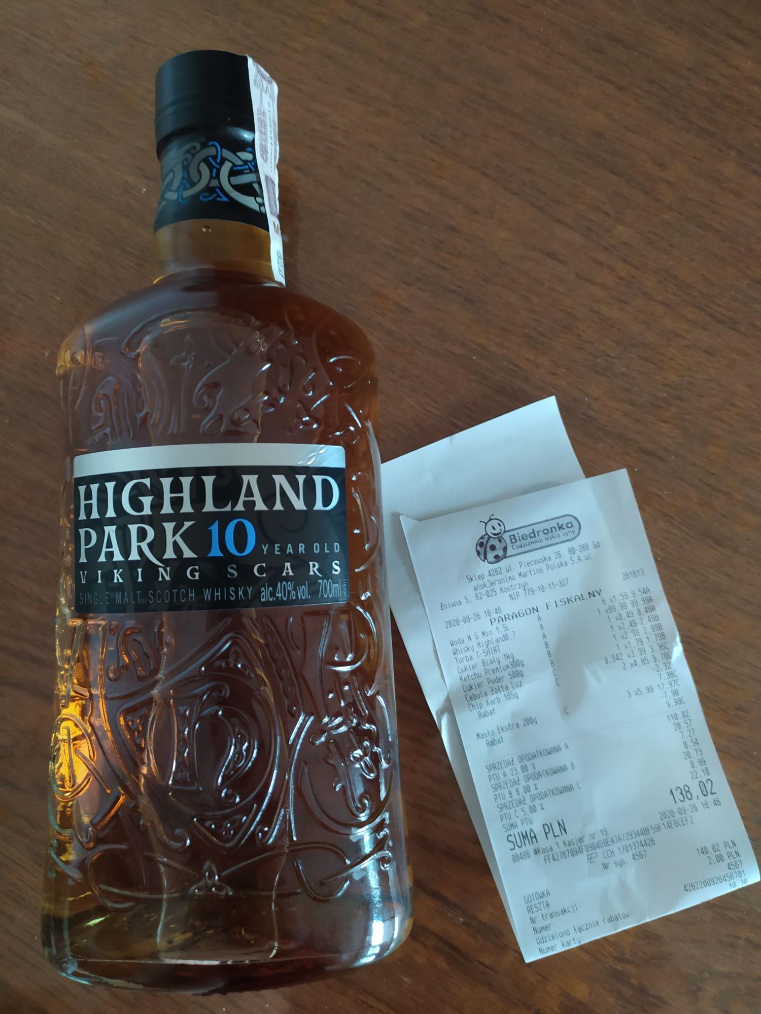 Whisky Highland Park 10