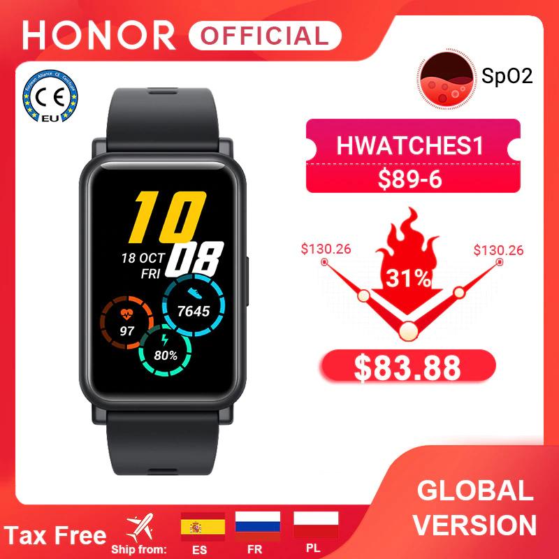 Globalna wersja Honor Watch ES inteligentny zegarek SpO2