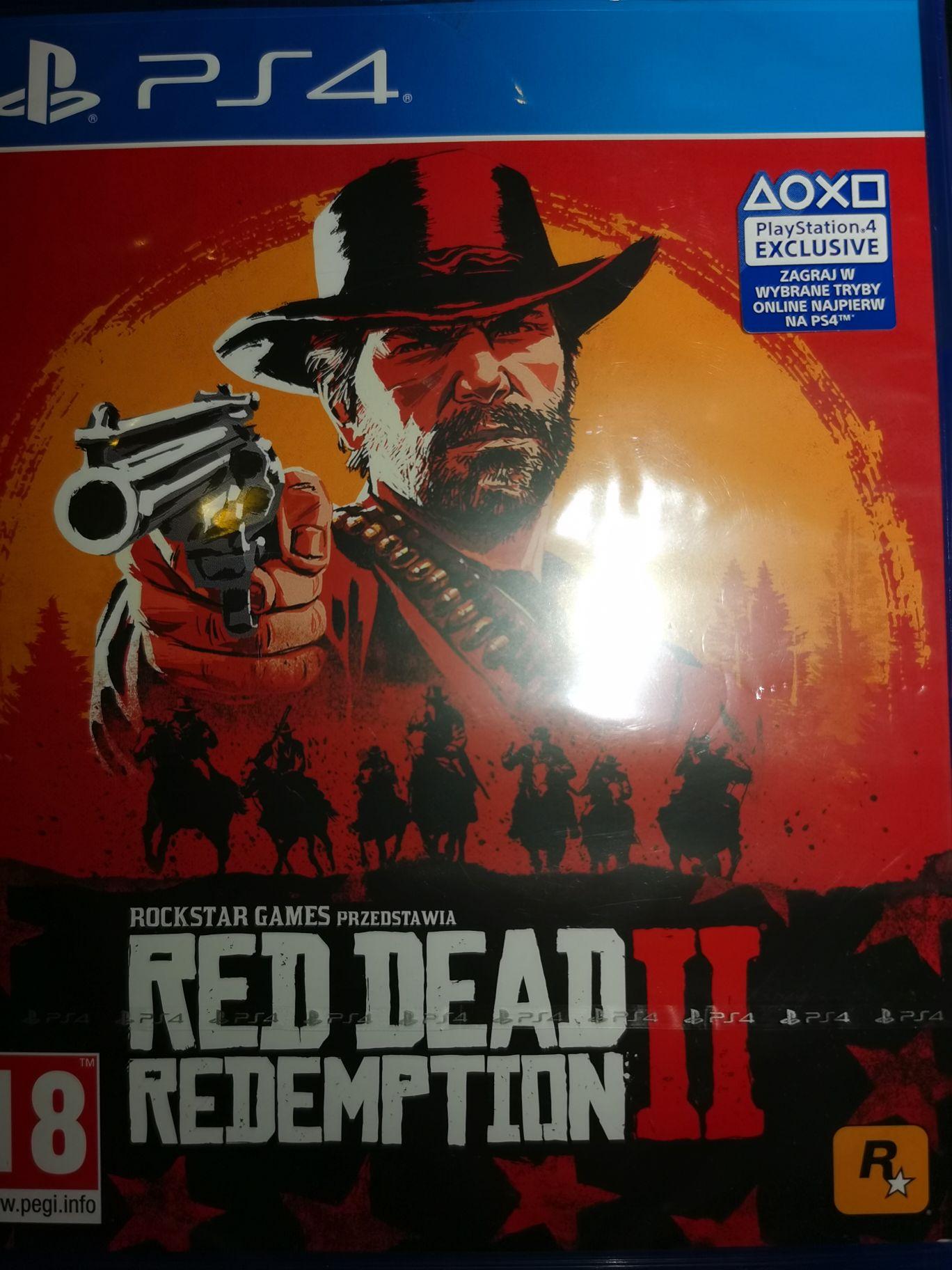 Red Dead Redemption 2 Ps4 PL w Tesco zamiast ziemniaków
