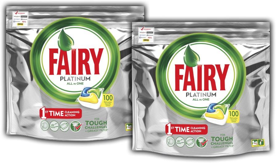 Kapsułki do zmywarki Fairy Platinum Yellow 200