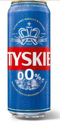 Piwo Tyskie bezalkoholowe 0% 0,5l puszka w Lidlu