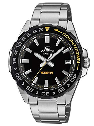 Zegarek Casio Edifice srebrno-żółty