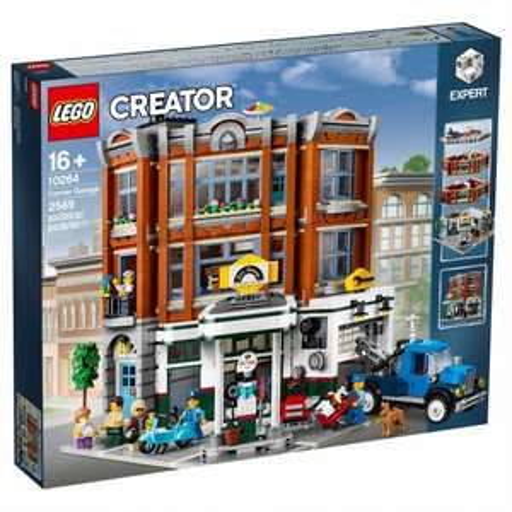 LEGO 10264 Creator Expert - Warsztat na rogu + 8 monet, Smart Week
