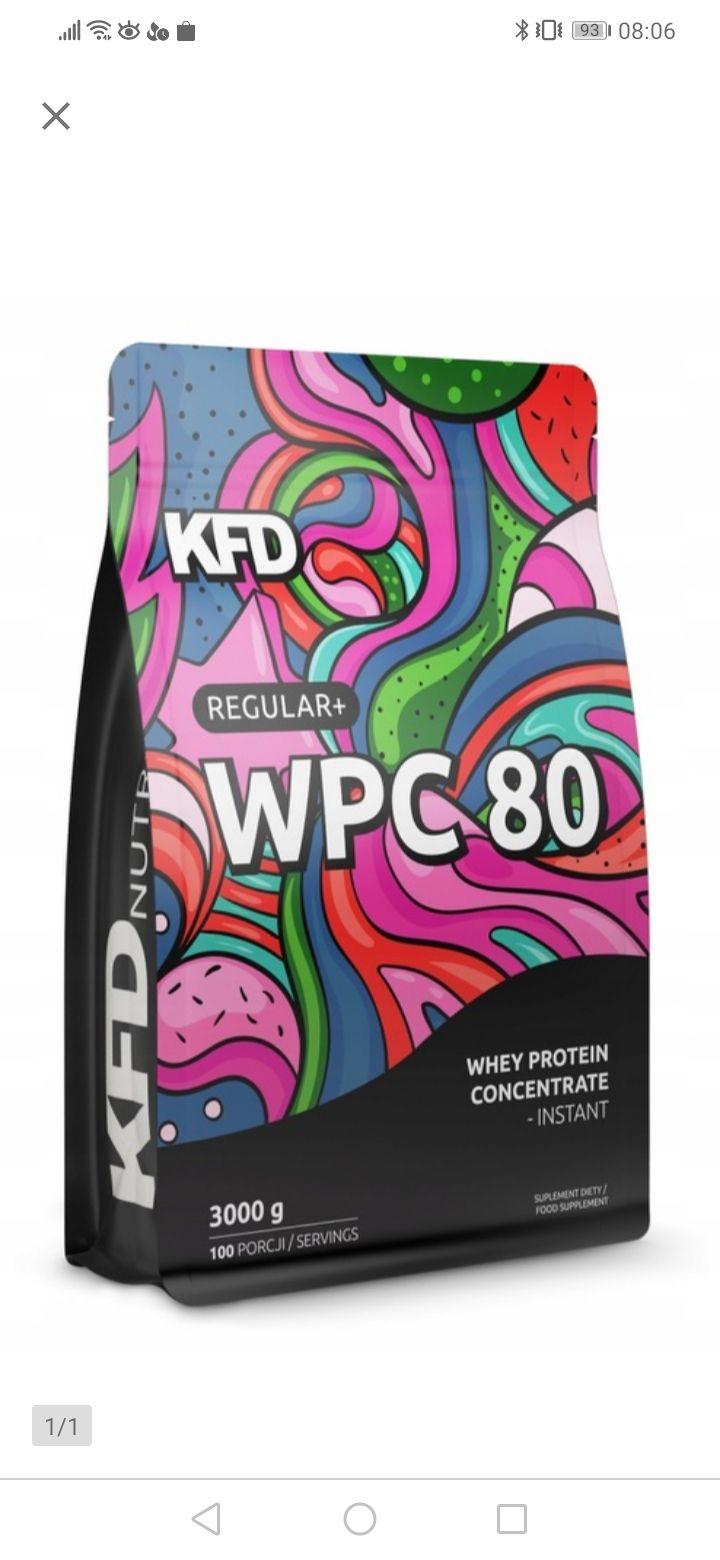 KFD REGULAR+ WPC 80 3 kg białko o smaku lodów waniliowych smart week