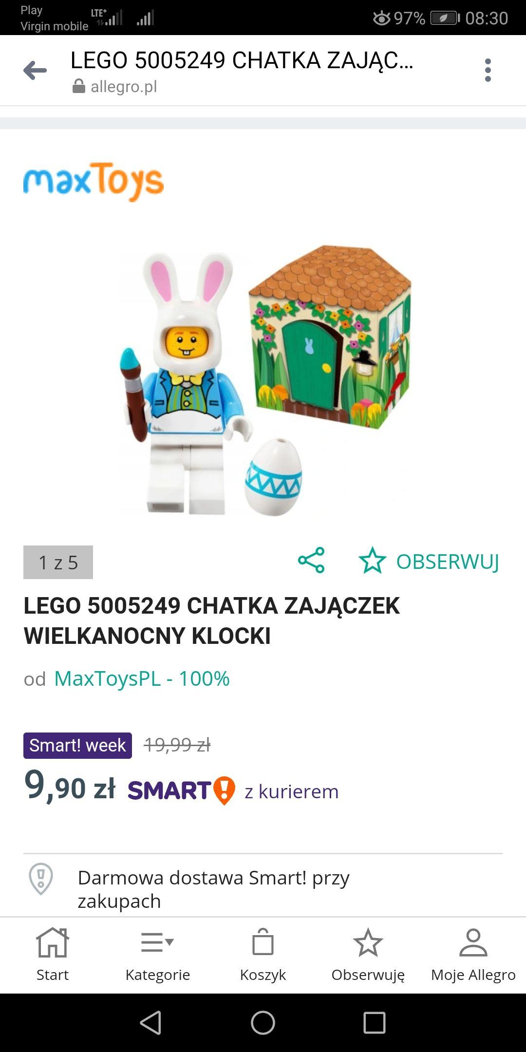 Klocki Lego Chatka Zajączka Wielkanocnego