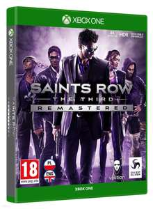 Saints Row The Third Remastered XBOX ONE PL