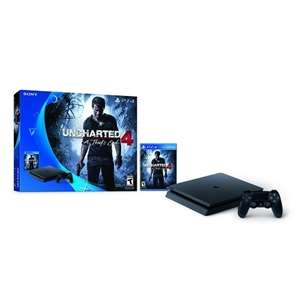 Sony PlayStation 4 SLIM + Uncharted 4 + 200zł