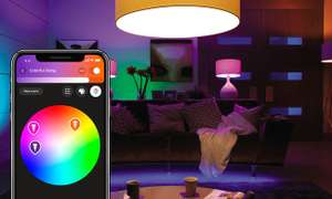 Philips Hue White and Color Ambiance (2szt. E27+Mostek)