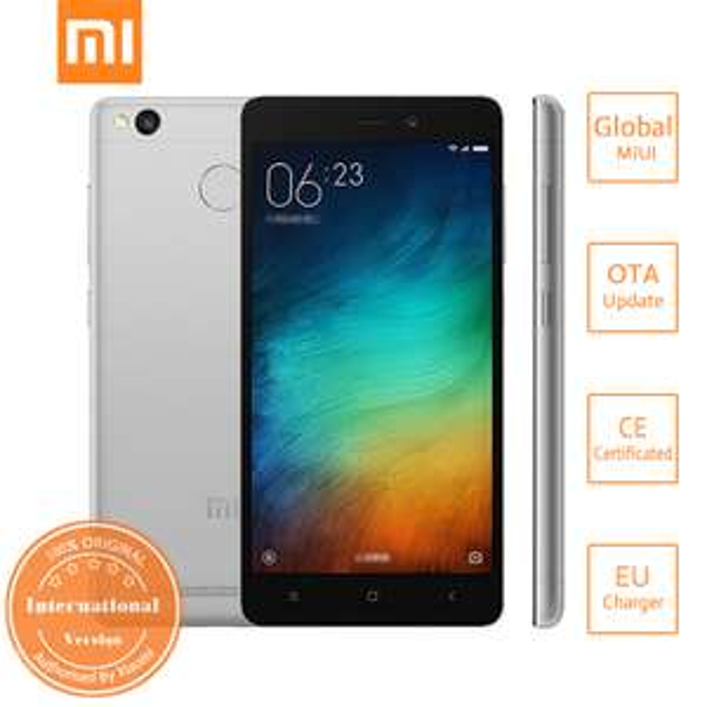 Xiaomi redmi 3S 3GB/32GB Grey, wersja international z obsługą LTE 800Mhz