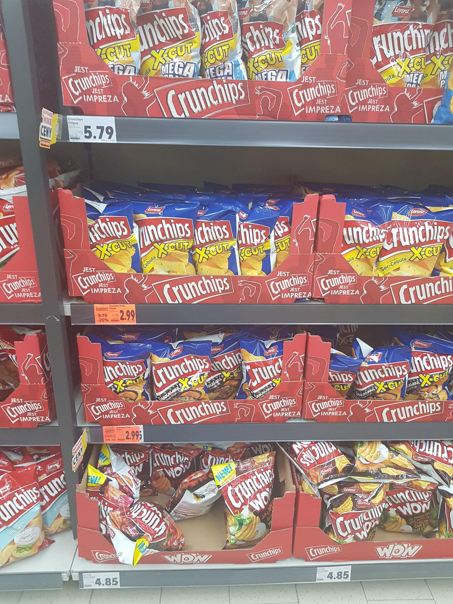 Crunchips za 2.99zł w Kauflandzie