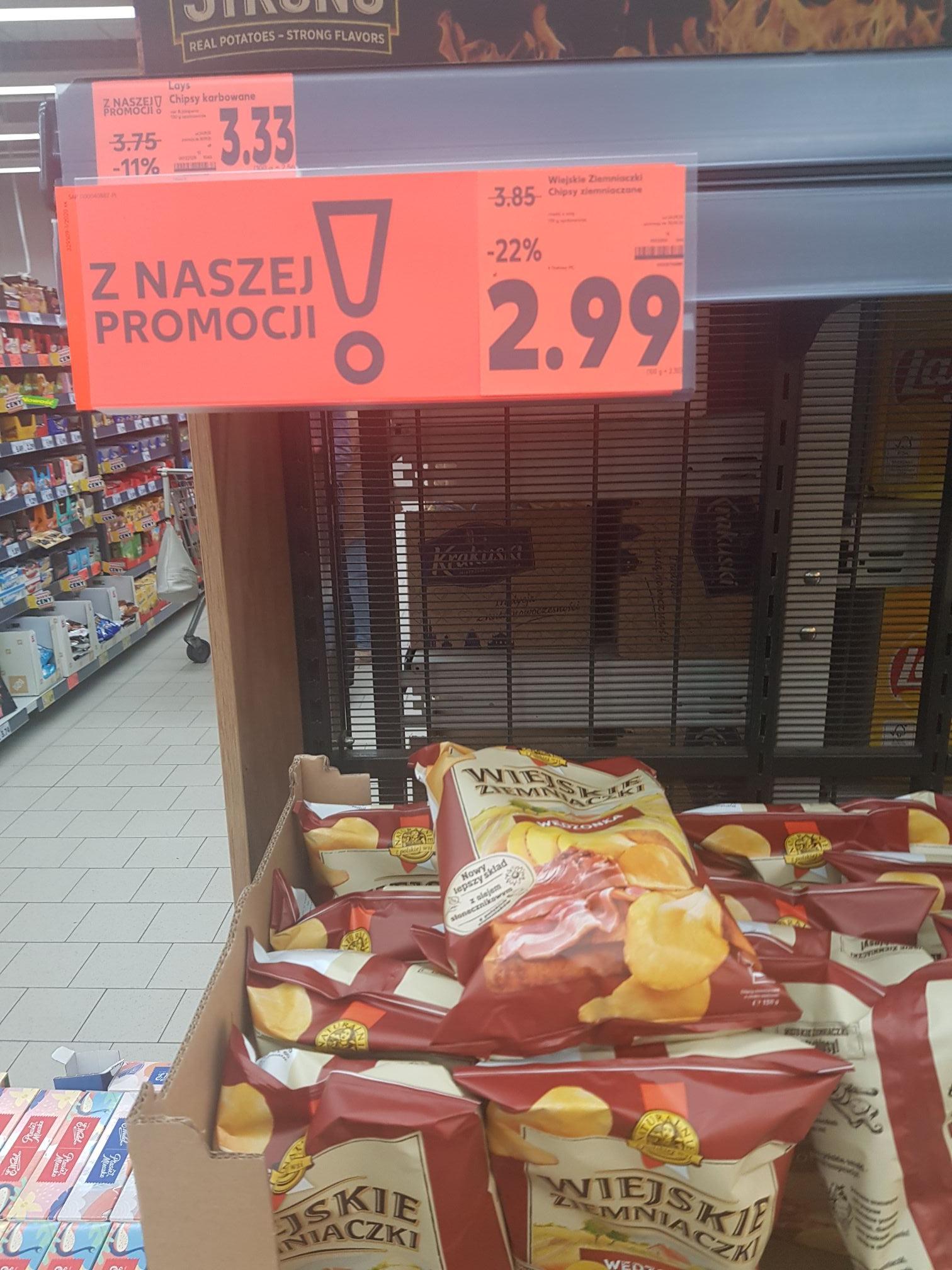 Wiejskie Ziemniaczki za 2.99 zł Kaufland