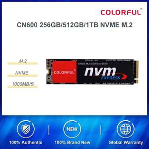 Colorful NVMe 512GB SiliconMotion SM2263XT 1800/1500MB/s