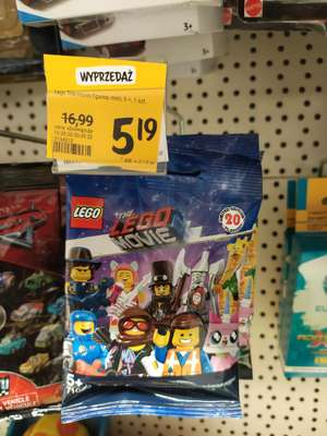 Lego The Movie 71020 figurka Rossmann