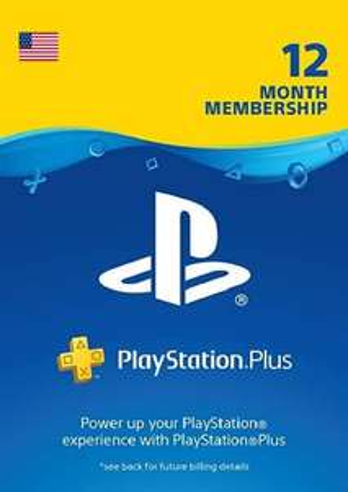 PlayStation Plus USA 1 rok CDKeys