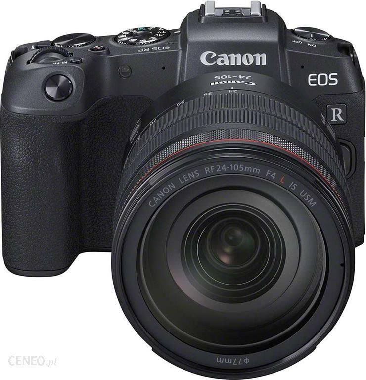 Aparat Canon EOS RP Kit 26.2 Mpix 24-105 mm (wysyłka przez pośrednika)