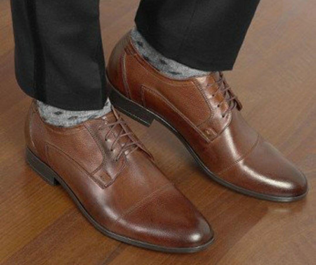 Skórzane buty męskie Oscar Brilu, 2 kolory