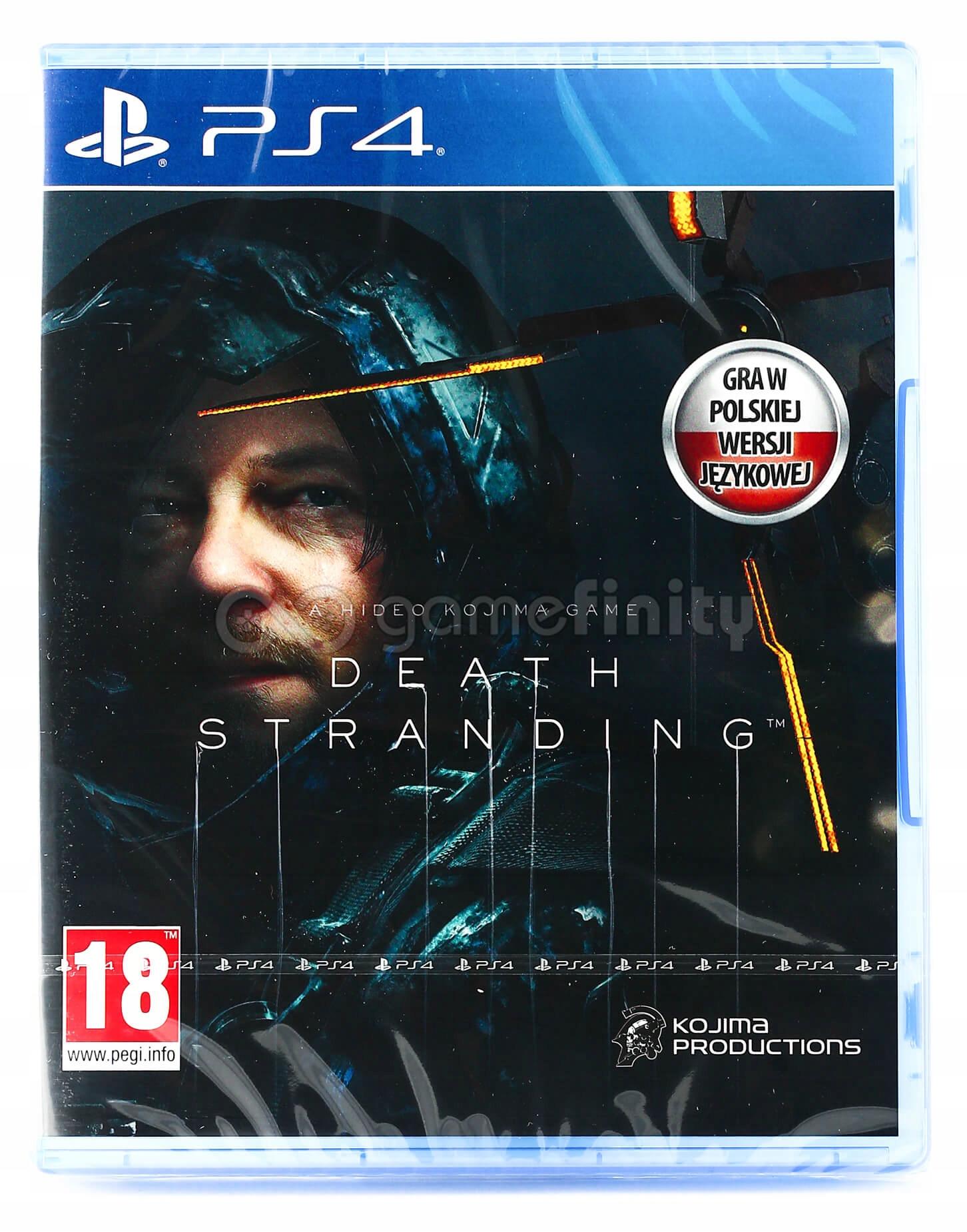 Death Stranding PL Dubbing PS4