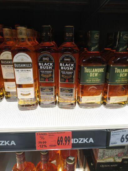 Black Bush Bushmills Whiskey 0,7l.